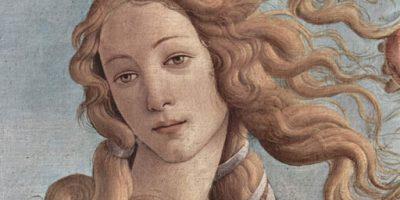 """Storia dei capelli: tra miti antichi, status sociale e salute - Particolare della """"Nascita di Venere"""", Sandro Botticelli – 1484"""